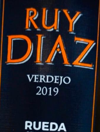 (Verdejo Blanco Rueda) Ruy Díaz